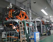 Rotary drum door foaming equipment