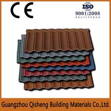 Qisheng stone coated steel roof tile cheap asphalt roof shingles