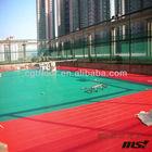2014 Hot sale popular interlocking plastic tennis court flooring material with best price in China