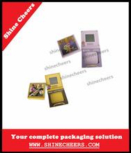 Mini Size Single Color Blush Container, Compact Box