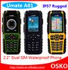 100% Original U-mate A81 IP-57 waterproof dustproof mobile phone quad band dual sim outdoor phone