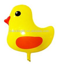 wholesale foil cartoon yellow duck balloon