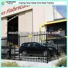 design for galvanized prefab security steel fence panel poles