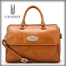 Fashionable lady leather ladies' handbag manufacturers