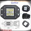 LED814FC 18W super bright led work light recessed mount 12v 24v IP68
