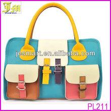 Korean Fashion Womens Ladies Pockets Messenger Handbag Hobo Tote Shoulder Bag