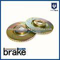 Slotted e disco de freio perfurados/freio platet terno..