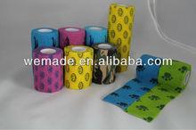 China Wholesale Puppy/ Dog Printed Cohesive Elastic Bandage ( ce/fda certificate hot sale)!!!