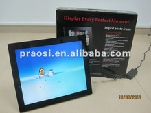 17 inch motion sensor digital photo frame detect human movement to work