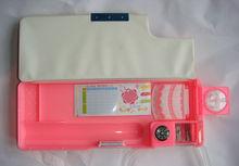 multifunction pen box /compass pen box /pen box with pen sharpner