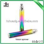 2014 Original newest and high quality vision spinner battery big vapor e hookah cigarette