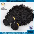 Pas cher usine prix de gros 100% humain couleur naturelle juive Curly cheveux