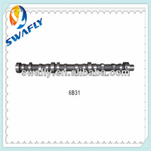 Excavator Parts Engine Camshaft With 6BD1 6BG1