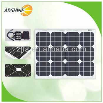 30W mono solar panel with grade A/grade B 533*419*25 36pcs solar cell,price per watt solar panels,hot sells panel solar module