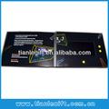 4.3 pulgadas de papel hecho a mano de felicitación, de vídeo en la impresión, de vídeo las tarjetas de papel