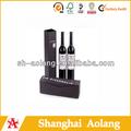 china top rojo marcas de vino de embalaje para una botella de vino de vidrio