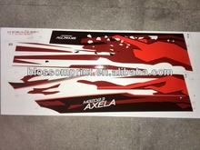 Body color bar & Mazda 3 axela Car sticker