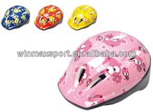 new product made in China Cartoon design kids bike helmet,skating helmet for sale ski helmet