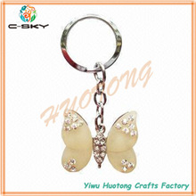 Made in china Customized promotion pull key chain/abs key chains