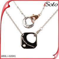 Cebu import export vacuum casting accessory jewelry for couple pendant