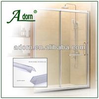 glass door rubber seal strip