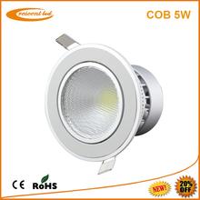 china wholesale 5w cob led downlights vs halogen