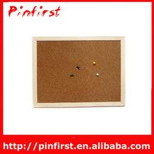 Pin Cork Wood Message Memo Notice Board