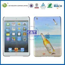 C&T Distinctive plastic transparent hard covers for ipad mini