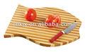 Forme de poisson planche à découper en bambou