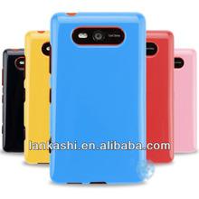 Gel Cover Phone TPU Silicone Case For Nokia Lumia 820