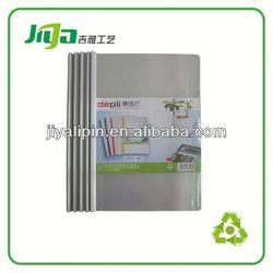 pocket file folder with clips/clip stationery