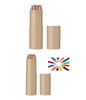 High grade paper pencil box pencil in ruler tube box for pencil packaging
