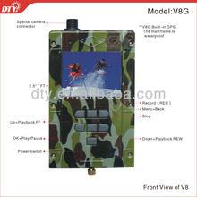 Dty V8 alta calidad alta definición h. 264 D1 de la cámara y dvr kit