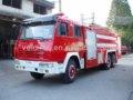 Shacman 10000 litros de água e espuma fire trucks, combate a incêndios trucks