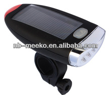 4 LED Bicycle Light bicycle lamp With solar pannel