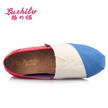 Luzhilv ladies black dress shoes rubber sole