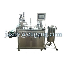 high viscosity mascara and lip gloss pneumatic filling machine