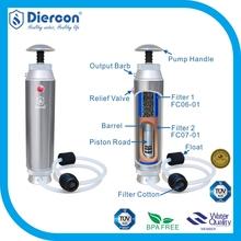 Top Brand manufacturer Diercon Survival water filtration Pump portable survival water filtration remove 99.9999% bacteria (KP02)
