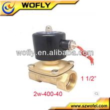 Normally open mini Max.10 bar 12v solenoid water valve