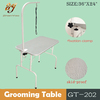professional high quality foldable pet dog grooming table