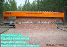 low invest high profit business tiger stone paving machine