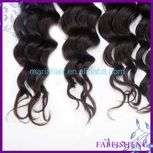 Fabeisheng Hair Company 100% Raw Virgin silky straight weft hair