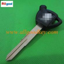 Allgood top quality car key blank motorcycle smart key for suzuki key blank for burgman250/400/650 in black