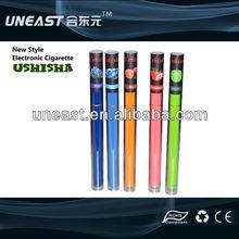 Most popular tube package e shisha colored hookah wholesale