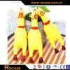 Shrilling scream squeeze plastic chicken toys