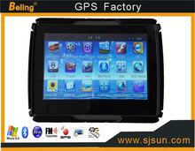 2014 new model 4.3 inch GPS Navigator,waterproof gps navigator,motorcycle/bikecycle waterproof gps navigator with free shipping