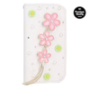 for samsung galaxy s5 case,diamond leather case for s5 i9600