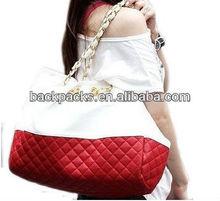 New Korean Lady Hobo Tote PU leather handbag