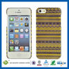 C&T Aztec gold foil pattern glossy pc case for iphone 5