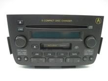 Radio Acura MDX 2001 01 2002 02 2003 03 2004 04 AM Fm Cassette 6 CD